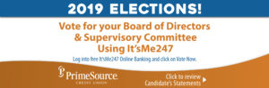 Vote now PSCU's 2019 Board & Supervisory Elections Candidate Statements