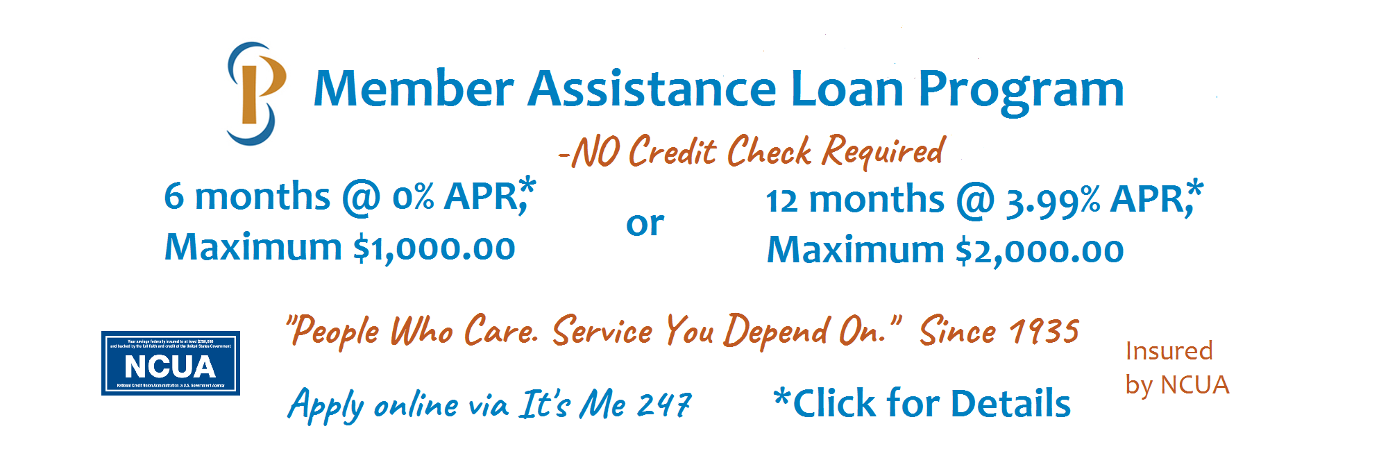Member Assistance Loan Program