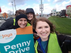 Employees at Joya Penny Drive