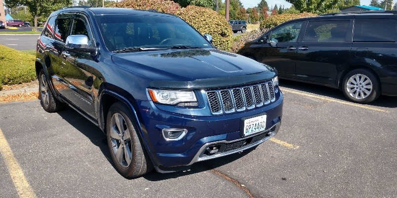 2014 Jeep Grand Cherokee Overland for Public Bid